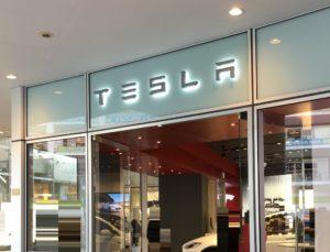 Teslaのお店