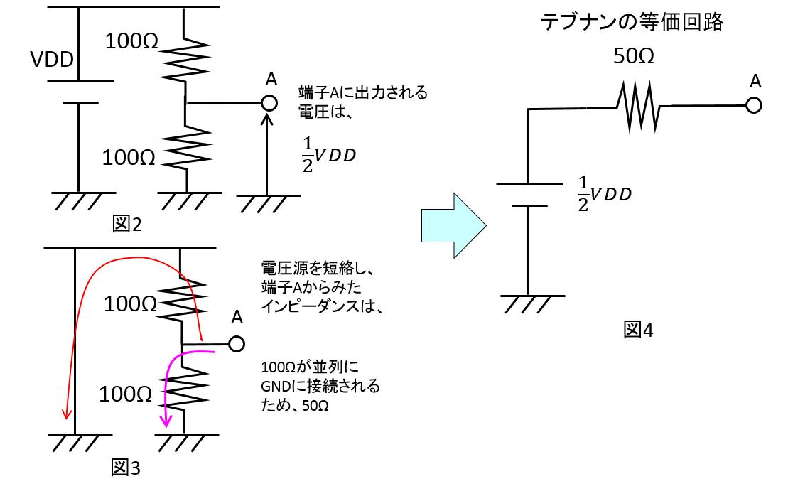 テブナン終端_説明図